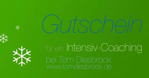 Gutschein Coaching Intensiv-Coaching