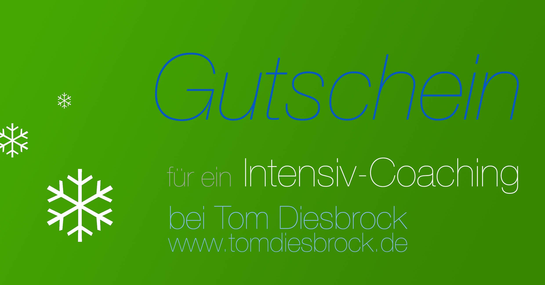 Gutschein Coaching Intensiv-Coaching