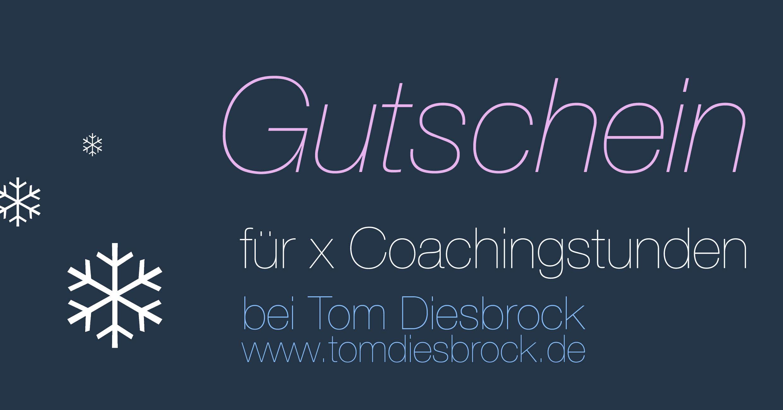 Gutschein Coaching