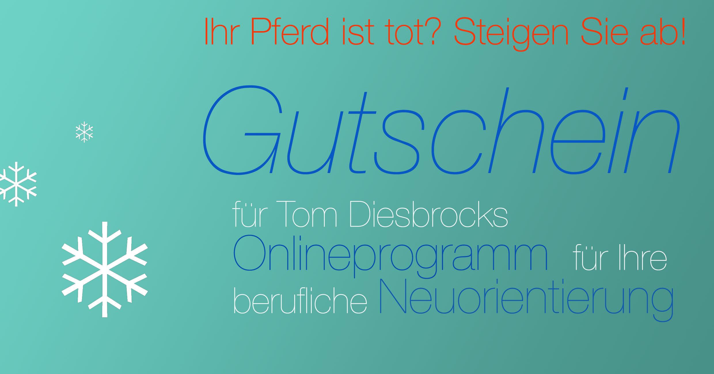 Gutschein Onlineprogramm