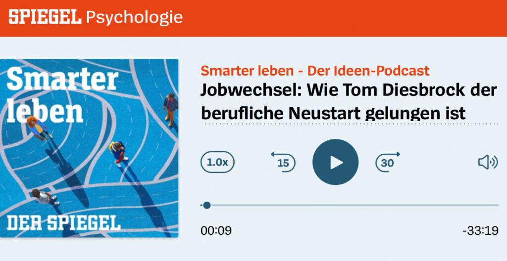 Coach in Hamburg - Tom Diesbrock auf Spiegel Online