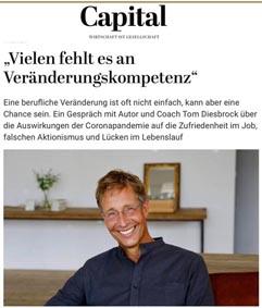 Coaching in Hamburg - Tom Diesbrock über Veränderungscompetenz